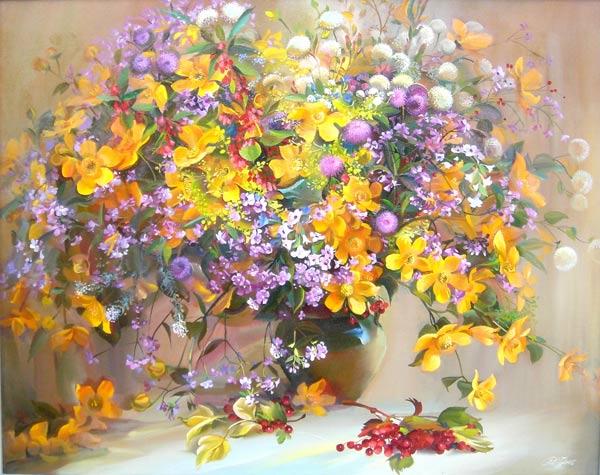 Квіти квіти такі красиві вірш