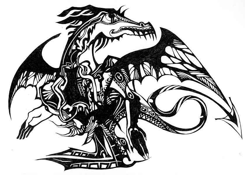 Laloba про дракона проза