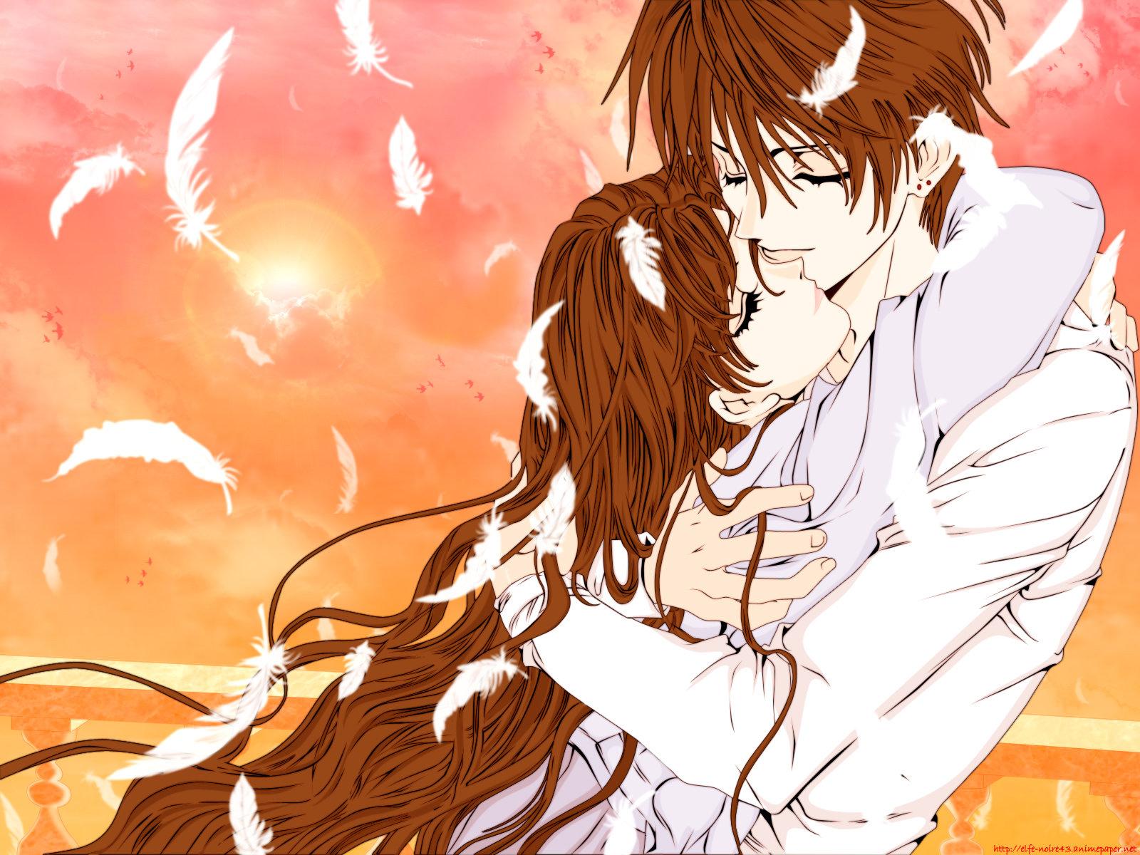 Обои аниме любовь красивые картинки