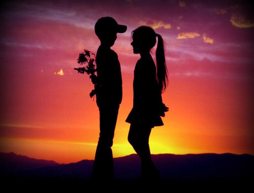 картинка два влюбленных человека