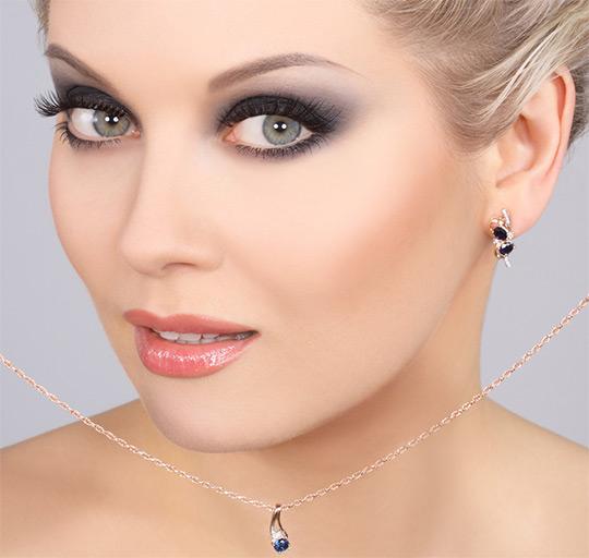 Тени для серых глаз и русых волос макияжа