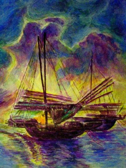Жанна Чайка :: Лодочка плывет…