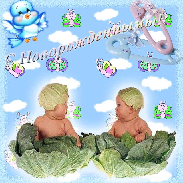 Поздравление двойняшек с днем рождения своими словами 66