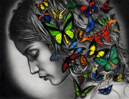 Akimova :: Милые бабочки